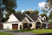 Farmhouse Style House Plan - 3 Beds 2.5 Baths 2112 Sq/Ft Plan #923-151 Exterior - Other Elevation