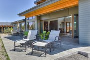 Modern Style House Plan - 3 Beds 3.5 Baths 3264 Sq/Ft Plan #892-12 Exterior - Outdoor Living