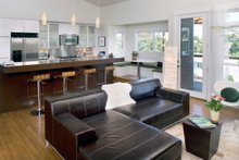 Contemporary style home, modern design house, kitchen photo
