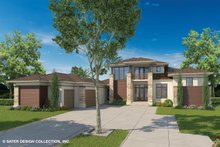House Design - Contemporary Exterior - Front Elevation Plan #930-461