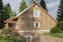 Dream House Plan - Country Exterior - Other Elevation Plan #923-46