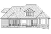 Colonial Style House Plan - 3 Beds 2.5 Baths 3590 Sq/Ft Plan #1054-27