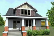 Craftsman Style House Plan - 4 Beds 3 Baths 2723 Sq/Ft Plan #461-65 Photo
