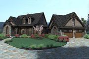 Craftsman Style House Plan - 3 Beds 2.5 Baths 1698 Sq/Ft Plan #120-168 Exterior - Other Elevation