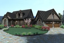 Craftsman Exterior - Other Elevation Plan #120-168