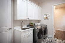 Contemporary Interior - Laundry Plan #938-92