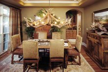 Architectural House Design - Country Interior - Dining Room Plan #952-182