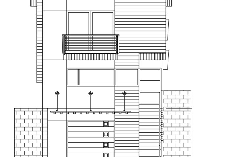 Traditional Exterior - Front Elevation Plan #484-13 - Houseplans.com