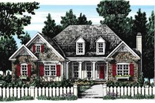 Home Plan - European Exterior - Front Elevation Plan #927-273