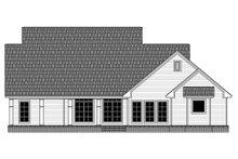 House Plan Design - Ranch Exterior - Rear Elevation Plan #21-453