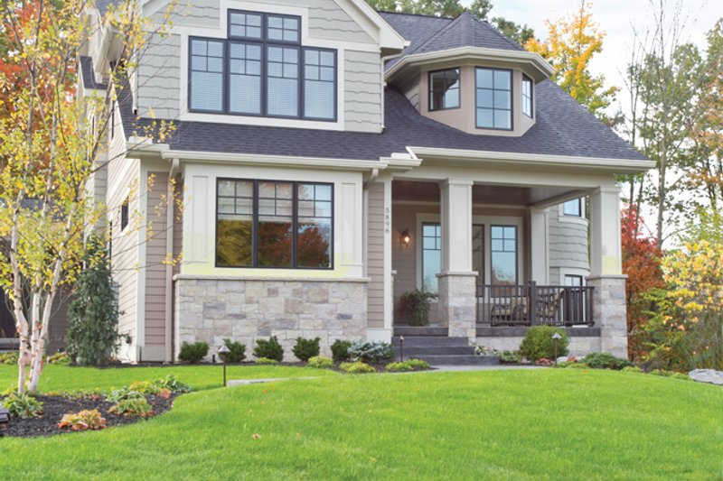 Architectural House Design - Traditional Exterior - Front Elevation Plan #928-271