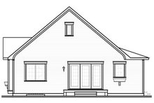 Country Exterior - Rear Elevation Plan #23-778