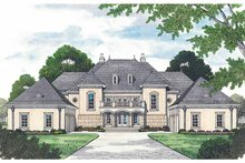European Exterior - Front Elevation Plan #453-472