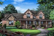 Dream House Plan - Farmhouse Exterior - Front Elevation Plan #929-1000