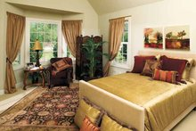 Architectural House Design - Traditional Interior - Master Bedroom Plan #929-605