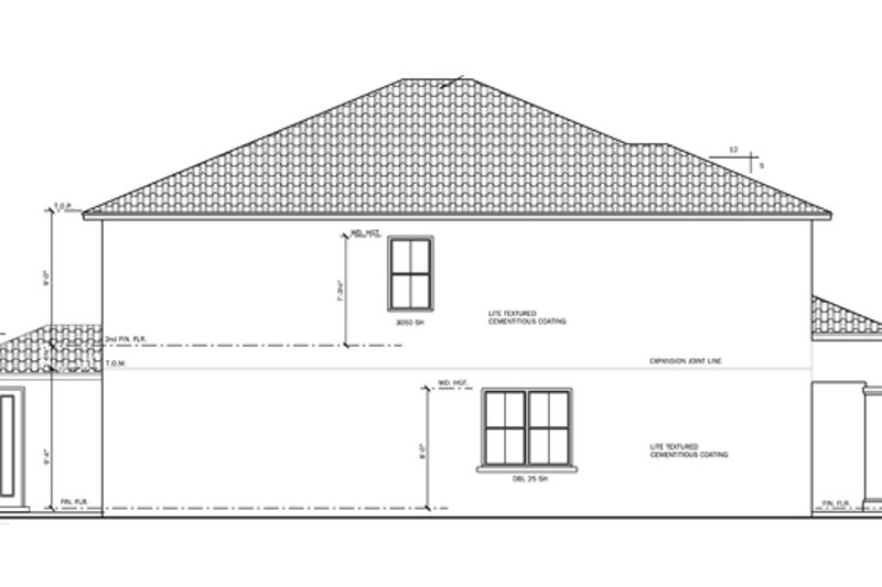 Mediterranean Exterior - Other Elevation Plan #1058-65 - Houseplans.com