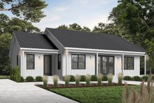 Dream House Plan - Modern Exterior - Front Elevation Plan #23-2715