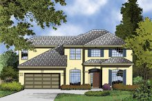 Contemporary Exterior - Front Elevation Plan #1015-50
