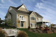 Architectural House Design - Craftsman Exterior - Rear Elevation Plan #928-91