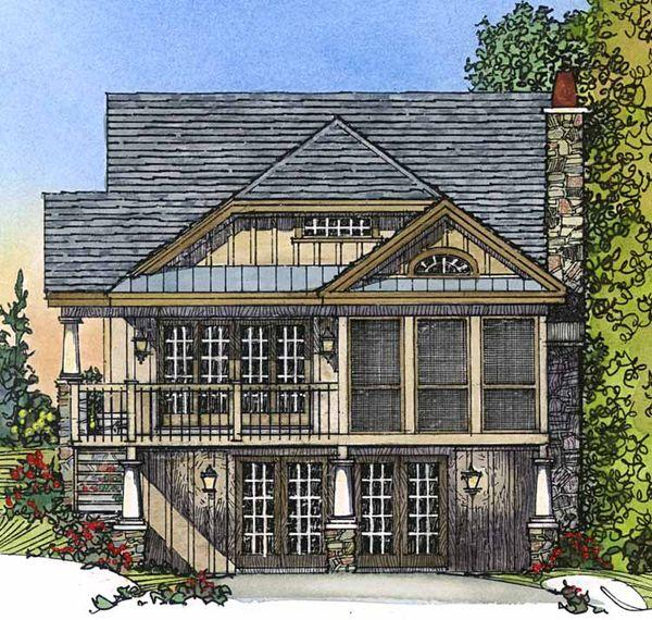 Country Floor Plan - Other Floor Plan Plan #1016-44