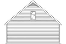Dream House Plan - Country Exterior - Rear Elevation Plan #22-577
