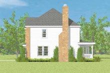 House Blueprint - Colonial Exterior - Other Elevation Plan #72-1083