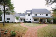 Colonial Style House Plan - 4 Beds 3.5 Baths 3448 Sq/Ft Plan #928-97 Exterior - Front Elevation