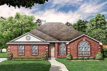 Dream House Plan - Southern Exterior - Front Elevation Plan #84-227