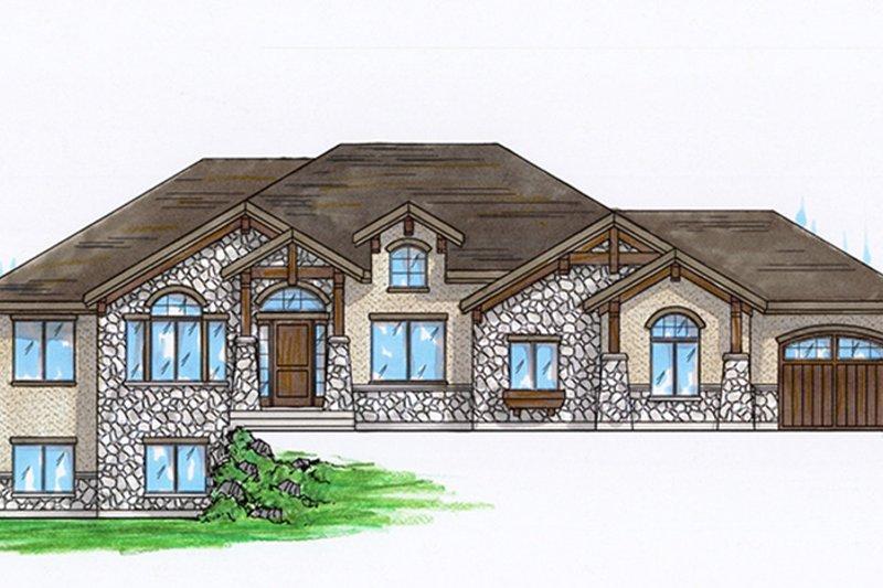 Craftsman Exterior - Front Elevation Plan #945-104 - Houseplans.com