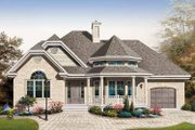 Country Style House Plan - 2 Beds 1 Baths 1243 Sq/Ft Plan #23-2401 Exterior - Front Elevation