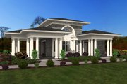 Classical Style House Plan - 0 Beds 1 Baths 709 Sq/Ft Plan #132-224 Exterior - Front Elevation