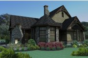Craftsman Style House Plan - 3 Beds 2.5 Baths 2595 Sq/Ft Plan #120-165 Exterior - Other Elevation