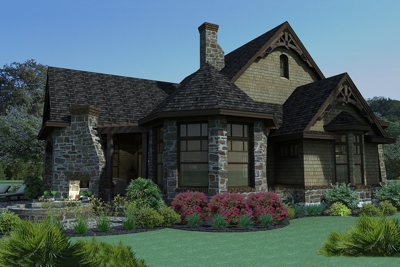 Craftsman Exterior - Other Elevation Plan #120-165 - Houseplans.com