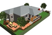Cottage Style House Plan - 1 Beds 1 Baths 825 Sq/Ft Plan #499-4 Photo