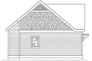 Cottage Style House Plan - 1 Beds 1 Baths 494 Sq/Ft Plan #22-606