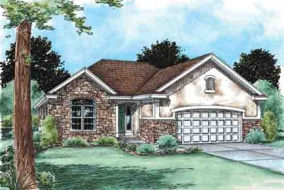 Traditional Exterior - Front Elevation Plan #20-1511 - Houseplans.com