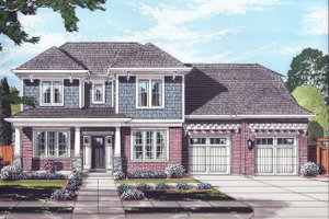 Traditional Exterior - Front Elevation Plan #46-883