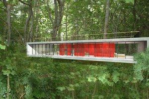 Modern Exterior - Front Elevation Plan #520-4