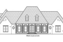 House Plan Design - Front with Optional Bonus
