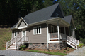 Cottage Style House Plan - 3 Beds 2 Baths 1226 Sq/Ft Plan #23-824 Exterior - Other Elevation