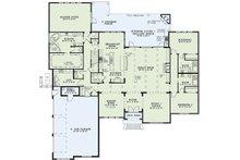 European Floor Plan - Main Floor Plan Plan #17-2477