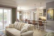 Mediterranean Style House Plan - 3 Beds 2 Baths 1555 Sq/Ft Plan #938-22 Interior - Kitchen