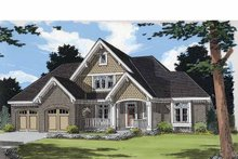 Traditional Exterior - Front Elevation Plan #46-824