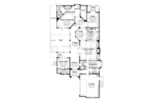 European Floor Plan - Main Floor Plan Plan #930-445