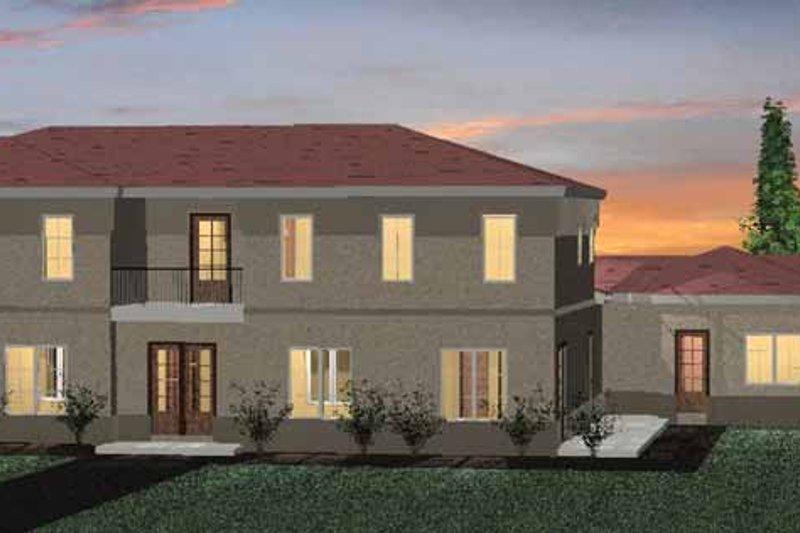 House Plan Design - Mediterranean Exterior - Front Elevation Plan #937-16