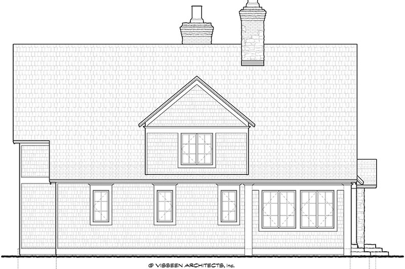 Craftsman Exterior - Other Elevation Plan #928-245 - Houseplans.com
