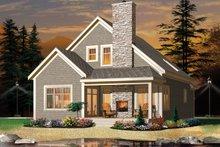 Dream House Plan - European Exterior - Front Elevation Plan #23-2494