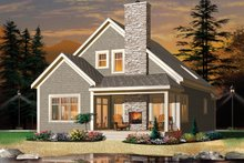 House Plan Design - European Exterior - Front Elevation Plan #23-2494