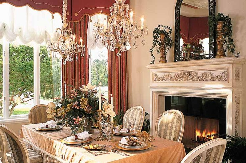 European Interior - Dining Room Plan #417-563 - Houseplans.com