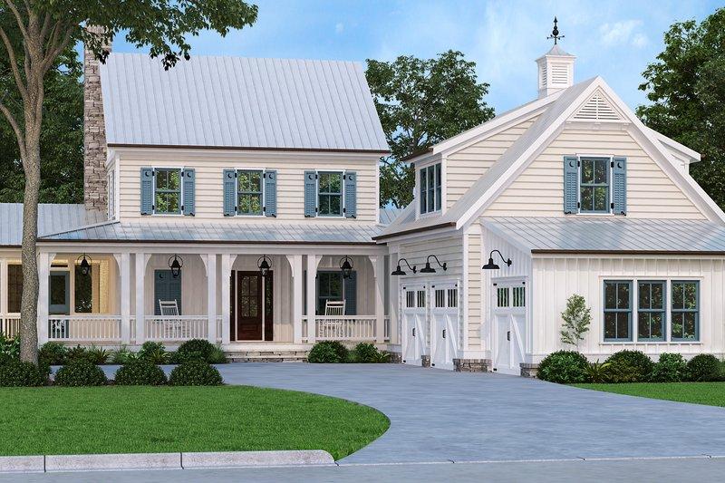 House Plan Design - Farmhouse Exterior - Front Elevation Plan #927-1021